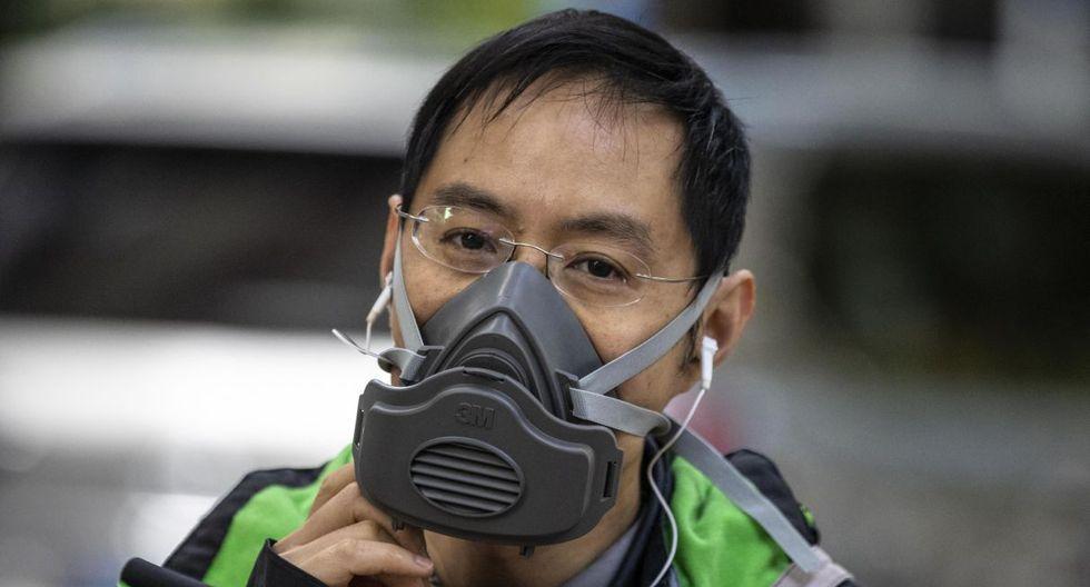 La semana pasada, la Comisión de Reforma y Desarrollo de China anunció que las empresas manufactureras de mascarillas se encuentran a un 76 por ciento de su capacidad de fabricación, lo que supondría unas 15,2 millones de mascarillas al día. (EFE).