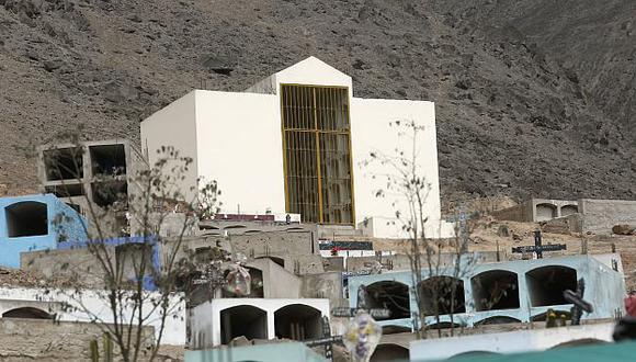 Familiares de terroristas enterrados en mausoleo de Comas se oponen a exhumación de cadáveres. (Piko Tamashiro)