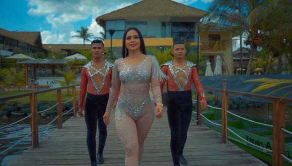 """Explosión de Iquitos estrenó su esperado videoclip de """"No sé"""", tema que ha ganado bastante popularidad en redes sociales. (Foto: Captura YouTube)."""