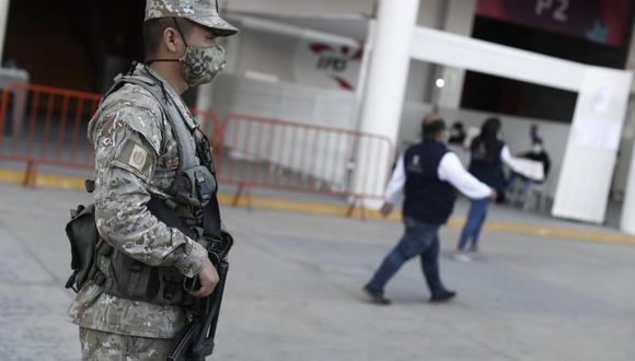 Ministro del Interior informó la manera que se viene monitoreando la seguridad en comicios mediante sistema informático de la PNP. (Foto: César Campos/@photo.gec)