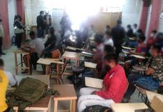 Sullana: Clausuran academia premilitar y prepolicial por dictar clases presenciales a 26 alumnos [FOTOS]
