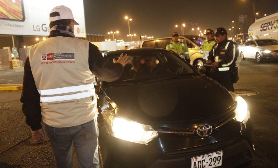 """La operación nocturna forma parte de la estrategia """"Turismo Seguro"""". (Foto: Difusión)"""
