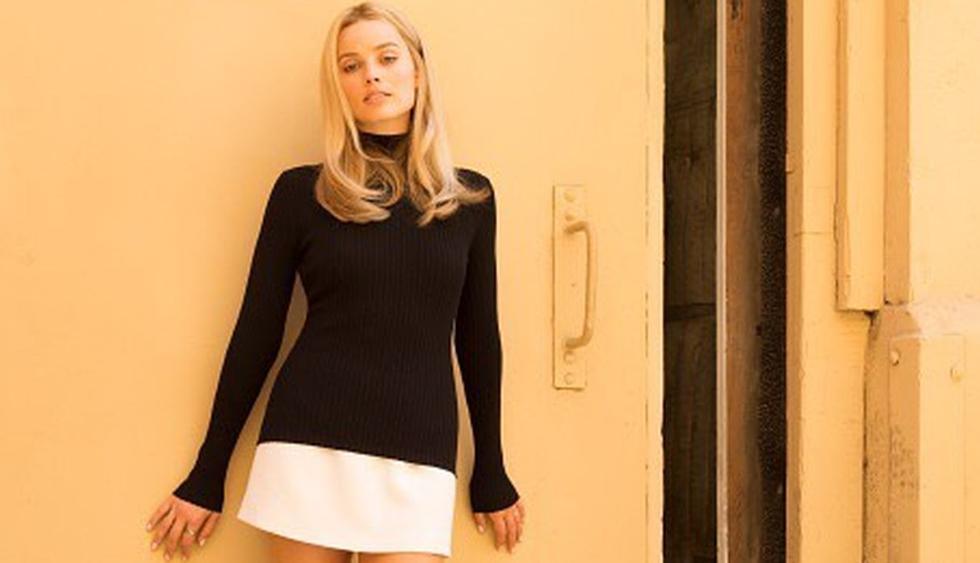 Así luce la actriz interpretando a 'Sharon Tate'. (Foto: @Margotrobbie)