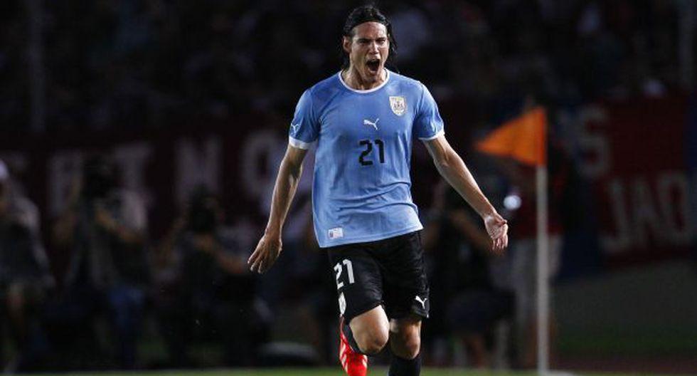Edinson Cavani marcó el tanto del triunfo. (Reuters)