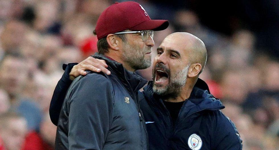 Pep Guardiola y sus elogios al Liverpool de Jürgen Klopp. (Foto: Reuters)