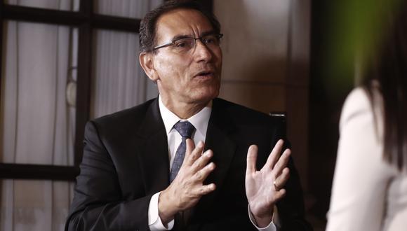 Martín Vizcarra. (RenzoSalazar/Perú21)