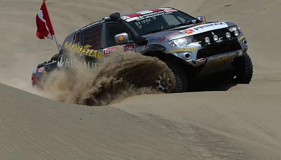 Alta Ruta 4×4 organizará en febrero la travesía 'Siguiendo las huellas del Dakar'. (R. Cornejo)