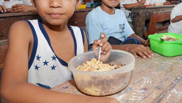 Programa de alimentación escolar se ha convertido en un dolor de cabeza para el Ejecutivo. (Difusión)