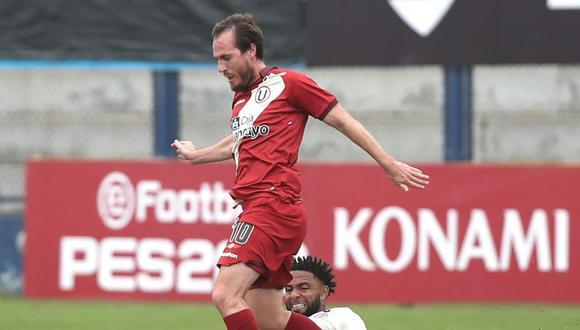 Hernán Novick marcó ocho goles con la 'U'. (Foto: Universitario de Deportes)