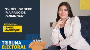 Isabel Manrique candidata al Congreso por Ancash de Acción Popular