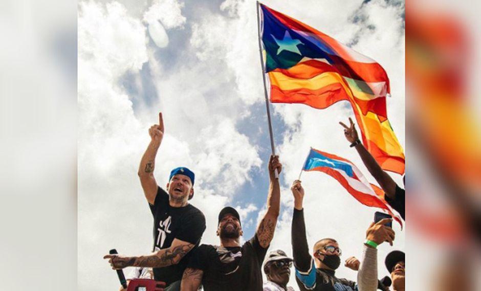 """""""Nosotros no vamos a esperar por el 'residenciamiento' (juicio político) porque eso lo está haciendo el mismo Gobierno, nosotros no creemos en el Gobierno"""", dijo René Pérez. (Foto: Instagram)"""