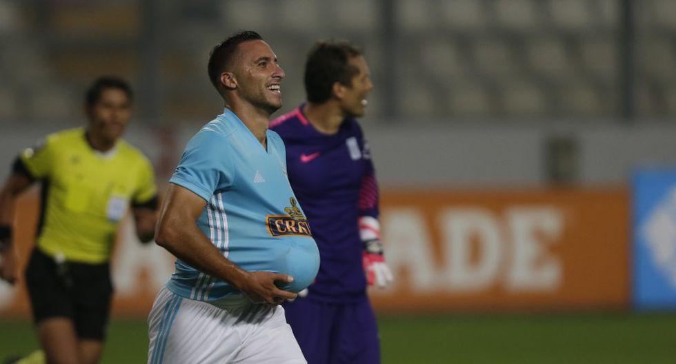 Emanuel Herrera espera cerrar el año marcando contra Alianza Lima en la final (Foto: GEC).
