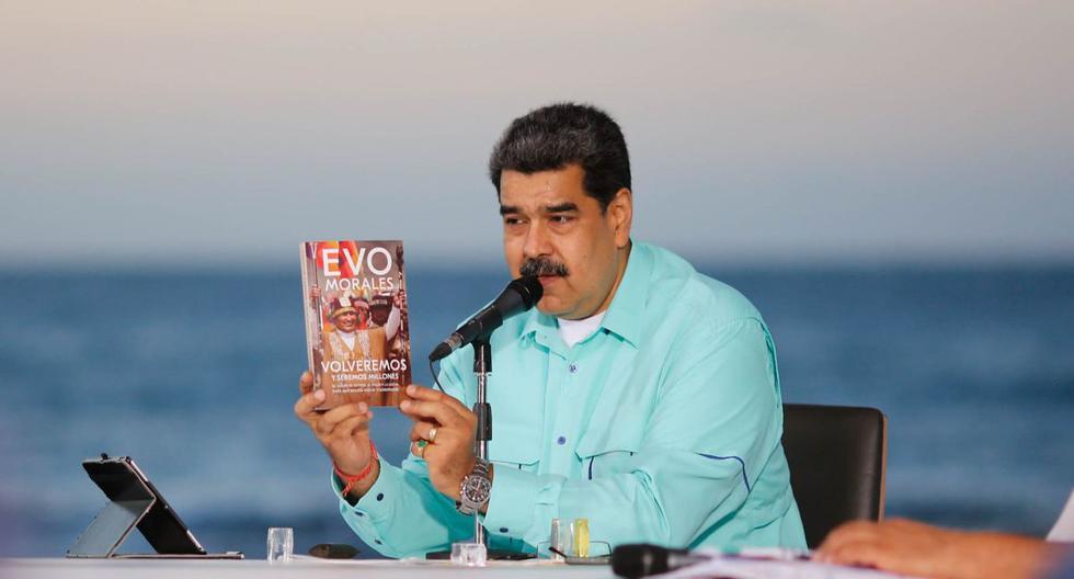 Nicolás Maduro confirmó que se reunió con Evo en rápida visita a Venezuela