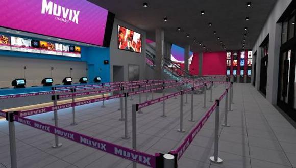 Muvix Cinemás cuenta con dos nuevos tipos de salas. (Foto: Difusión)