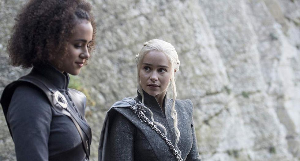"""Missandei, traductora y fiel acompañante de Daenerys Targaryen fue ajusticiada en """"Game of Thornes 8x04"""". (Foto: HBO)"""