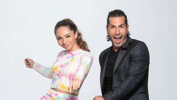 """Gregorio Pernía y su hija Luna son los concursantes del reality de baile """"Así se baila"""" de Telemundo (Foto: Telemundo)"""