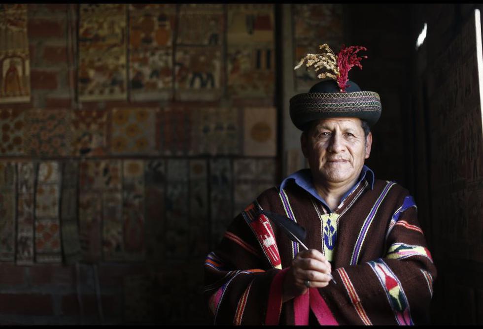 Pompeyo Berrocal, artesano ayacuchano.