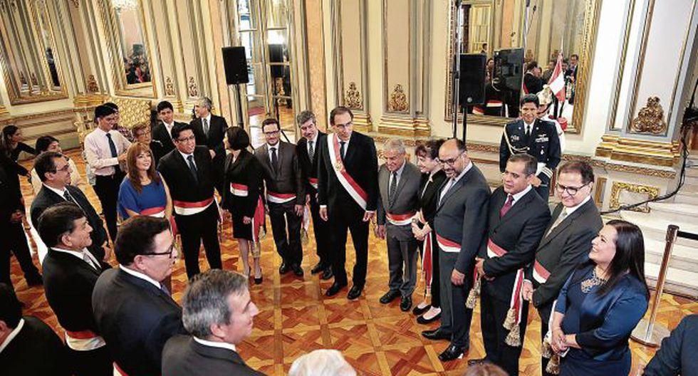 Continúan los cuestionamientos al gabinete ministerial de parte del bloque PpK. (Perú21)