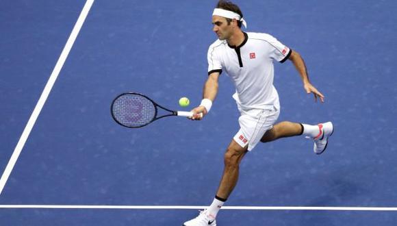 Federer enfrenta a Evans en el US Open 2019 tras eliminar a Damir Dzumhur. (Foto: AFP)