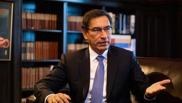 En la víspera, Martín Vizcarra se retiró de la Comisión de Fiscalización y cuestionó que la sesión sea reservada. (Foto: GEC)