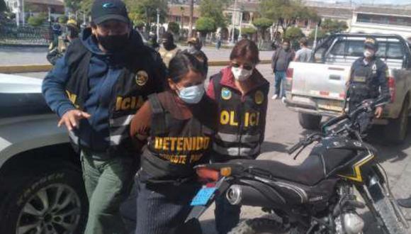 Ayacucho: capturan a mujer requisitoriada por terrorismo y presunta miembro de Sendero Luminoso. (PNP)