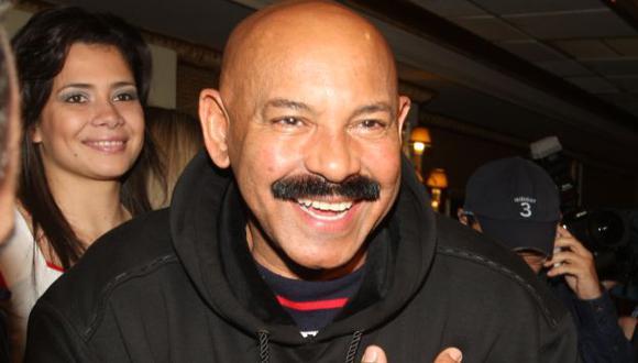 Oscar D'León en una de sus tantas visitas a Lima. (USI)