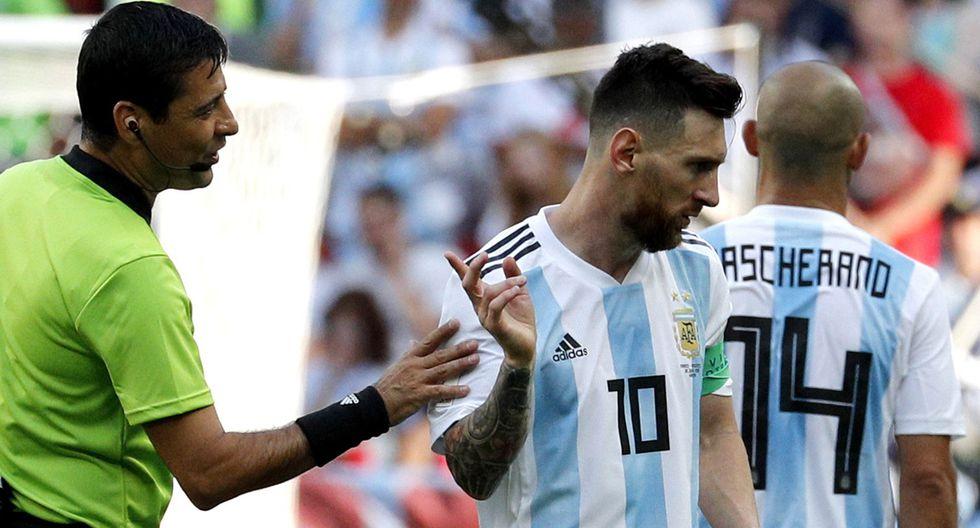 Lionel Messi lamentó la eliminación de Argentina en el Mundial Rusia 2018. (Foto: EFE)
