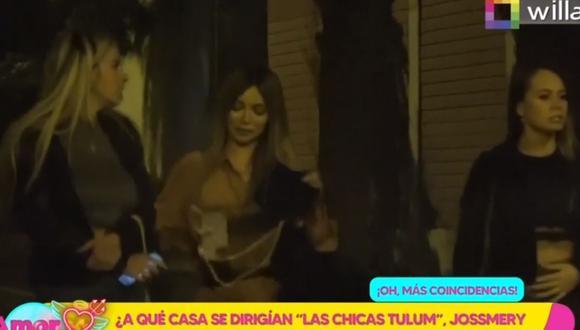 André Carrillo fue captado el pasado domingo en un restaurante en San Isidro. (Foto: Captura Willax TV).