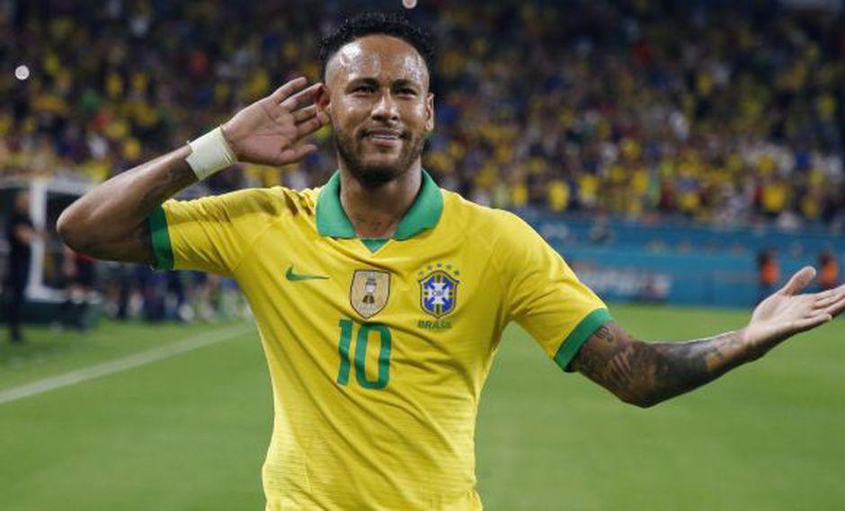 Neymar quedó a un gol de alcanzar a Ronaldo en la Selección de Brasil. (Foto: AFP)