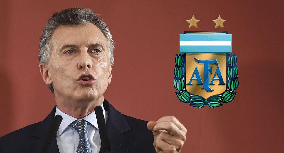 Las críticas del presidente argentino Mauricio Macri a la selección Albiceleste. (Foto: AFP/Producción)