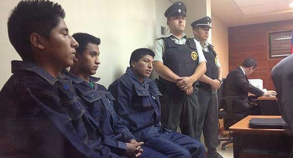 Los detuvieron el 25 de enero. (Emol.cl)
