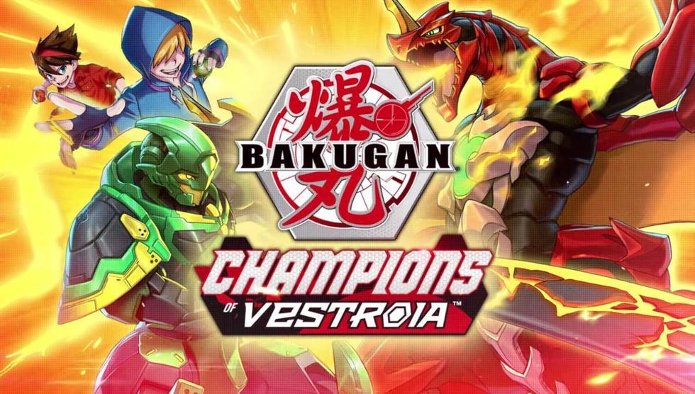 Bakugan: Campeones de Vestroia llega en exclusiva a Nintendo Switch.