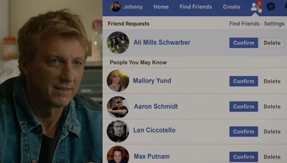 """¿La esperada aparición de Ali Mills se hizo realidad en la nueva entrega de """"Cobra Kai""""? (Foto: Captura de pantalla)"""