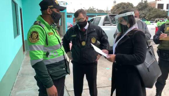El suboficial PNP Sergio Antonio Soplapuco Vilchez fue intervenido la semana pasada cuando se encontraba dentro de la División Policial de Lima Este. (Foto: Ministerio Público)