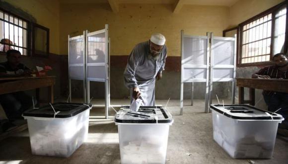 Fiesta democrática en Egipto. (AP)