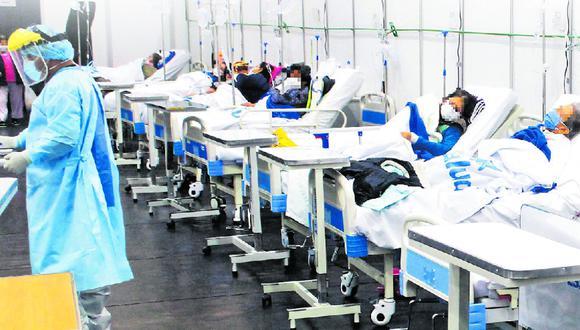 A la fecha, se tienen a 11.108 personas con COVID-19 hospitalizadas. (GEC)
