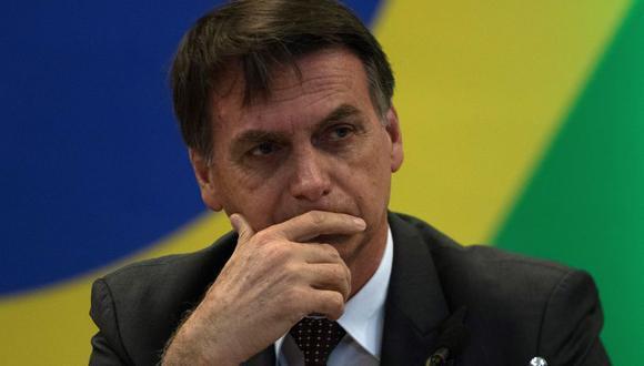 Jair Bolsonaro ha recibido críticas no sólo de los países árabes sino también de los empresarios brasileños que negocian con el mundo árabe, principalmente los influyentes exportadores de carnes. (Foto: EFE)