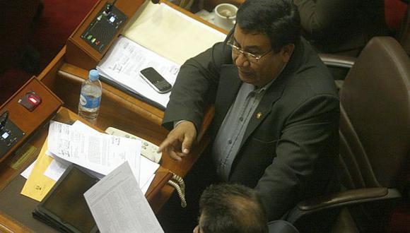 Alejandro Yovera es investigado en el Congreso. (USI)