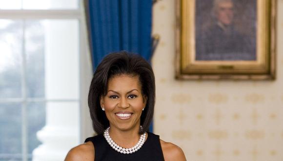 Michelle Obama se viste como Beyoncé. (AP)