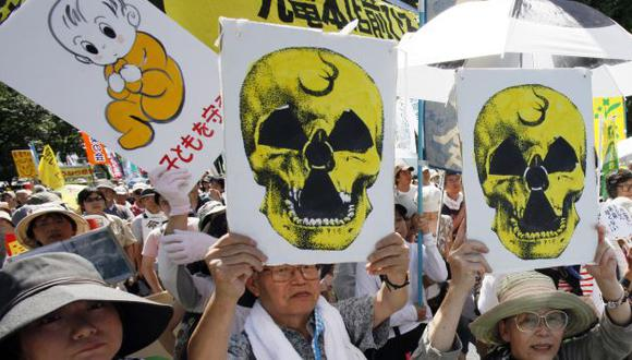 Protesta congregó a 170 mil. (AP)