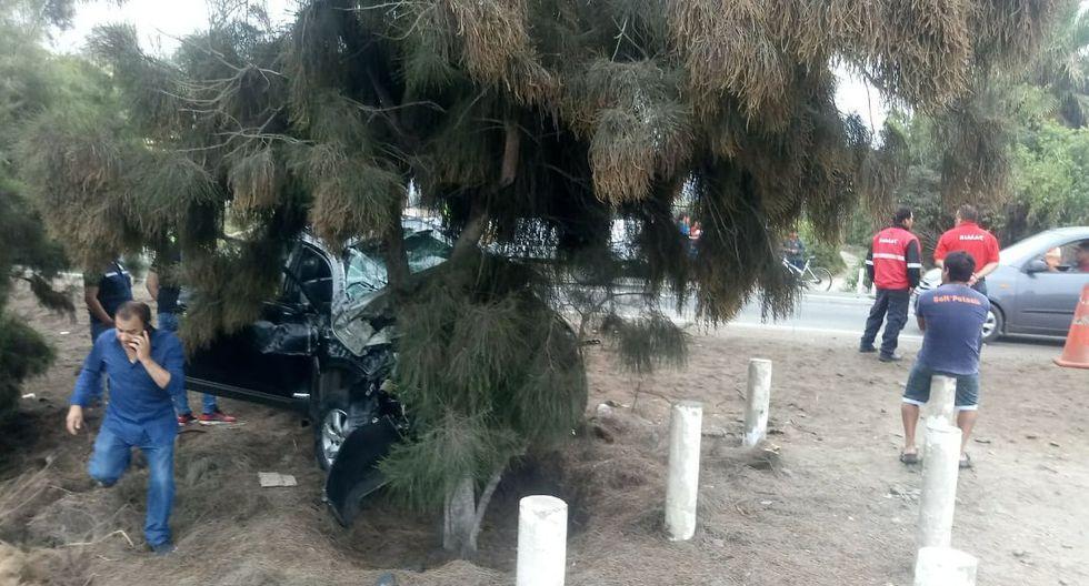 Hermano y cuñada de Juan Carlos Orderique mueren tras accidente de tránsito. (Joseph Ángeles/GEC)