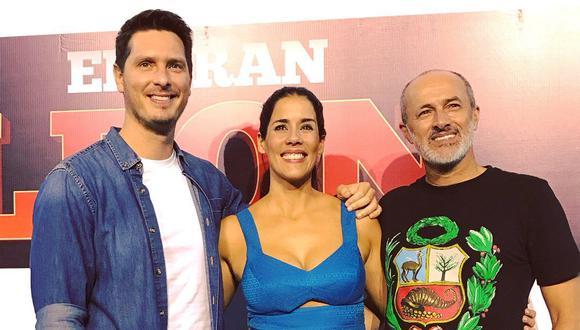 Cristian Rivero, Gianella Neyra y Carlos Alcántara enfrentarán un triángulo amoroso. (Créditos: Facebook)