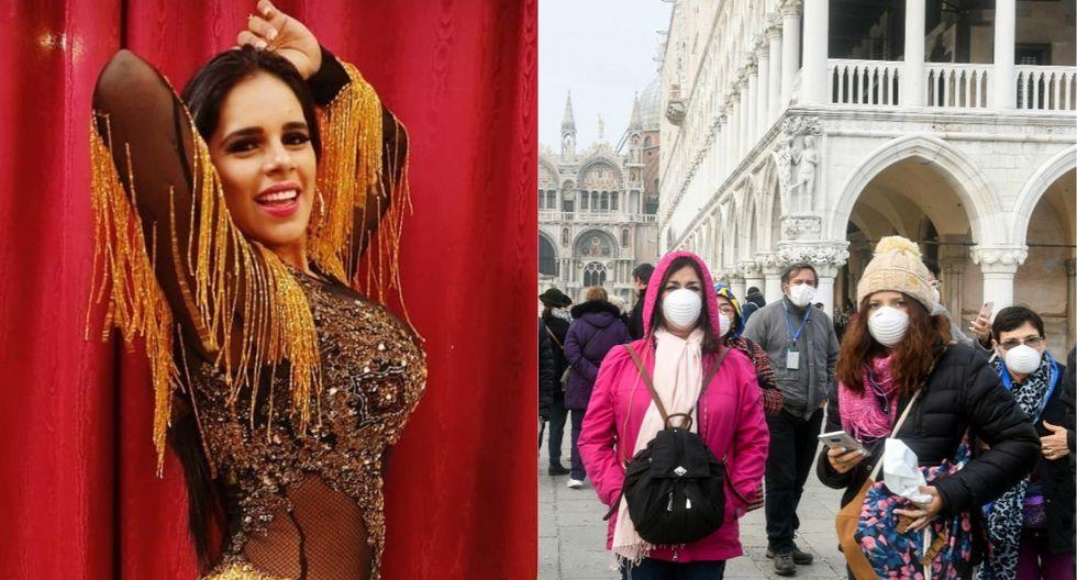 Concierto de Giuliana Rengifo fue cancelado por coronavirus. (Foto: Captura Instagram/AFP)