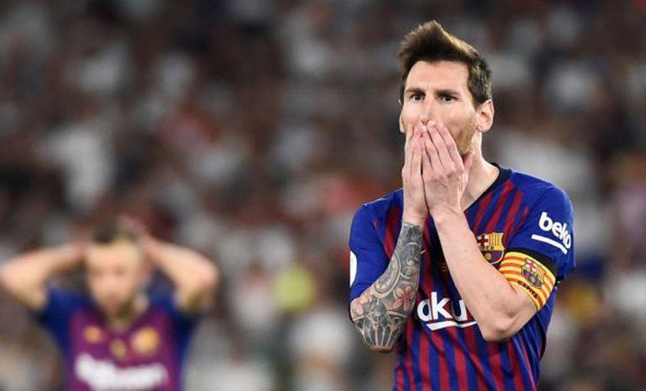 Ernesto Valverde no incluyó a Messi entre sus elegidos para el Barcelona-Betis. (Foto: AFP)