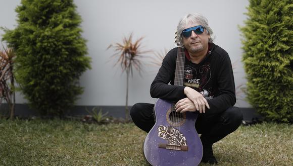 """Pelo D'Ambrosio es creador de canciones como """"Lejos de ti"""". (Foto: César Campos)"""