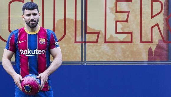 Sergio Agüero alista el debut con Barcelona. (Foto: FC Barcelona)