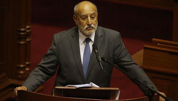Pleno decidirá mañana la suerte del ministro Eleodoro Mayorga. (Martin Pauca)