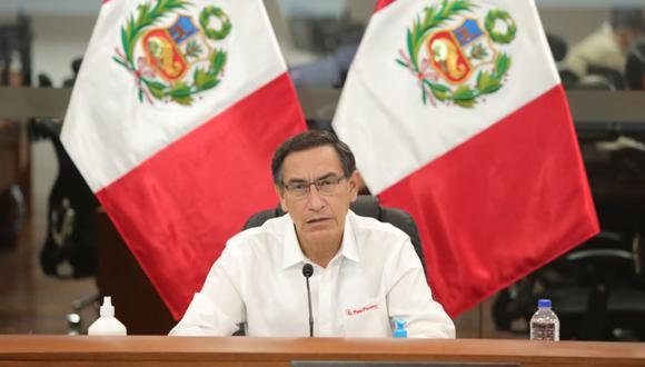 Martín Vizcarra anuncia ampliación del estado de emergencia por propagación del COVID-19. (PCM)