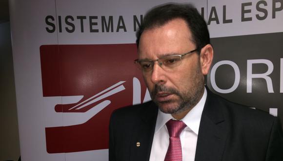 El procurador regional de Porto Alegre en Brasil, Douglas Fisher, fue invitado al Perú por el primer aniversario de la creación del Sistema Anticorrupción en el Poder Judicial.