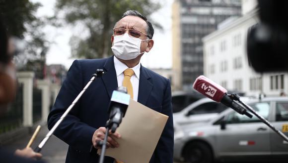 Congreso admitió pedido de Edgar Alarcón de suspender sesión en que se debatiría informe final de acusación en su contra porque no tenía abogado (GEC).